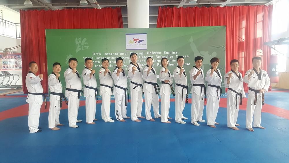 国际跆拳道裁判员学习班